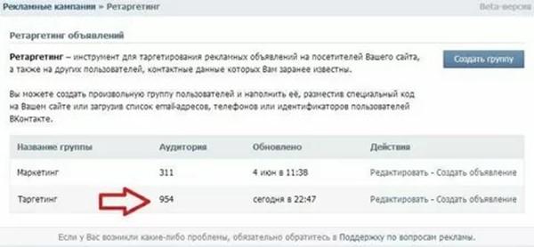 Настраиваем правильно таргетинг в ВКонтакте