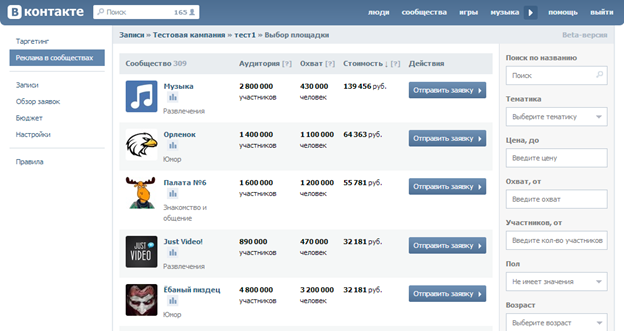 Реклама ВКонтакте всегда приносит хорошие результаты
