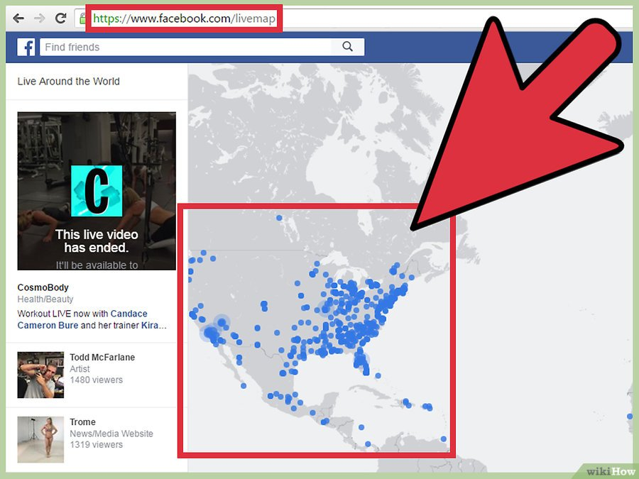 прямые эфиры в facebook