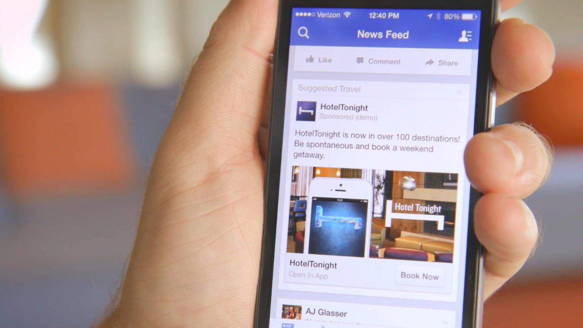 фейсбук мобильная версия