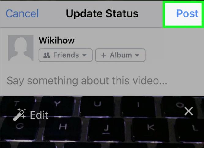 инструкция как добавить видео в фейсбуке