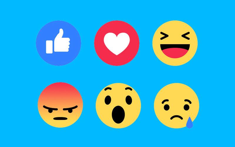 какие бывают лайки в фейсбуке