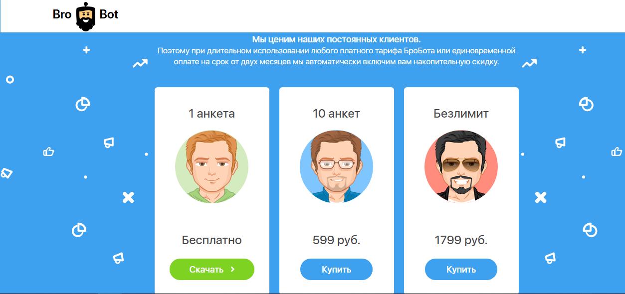 накрутка подписчиков в инстаграм за деньги в приложении brobot