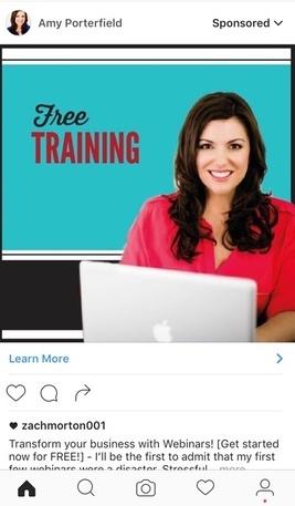 пример успешной рекламы в инстаграм