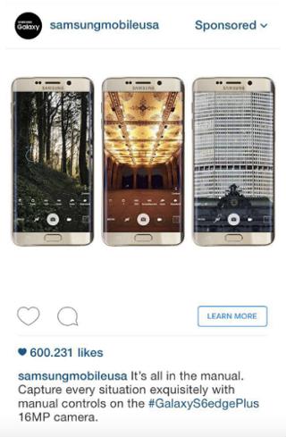 пример как нужно создавать рекламу в инстаграме