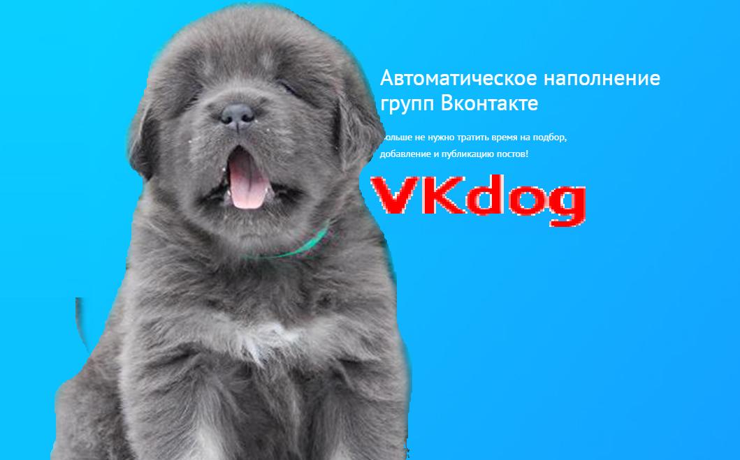 vkdog онлайн сервис граббер для наполнения вконтакте