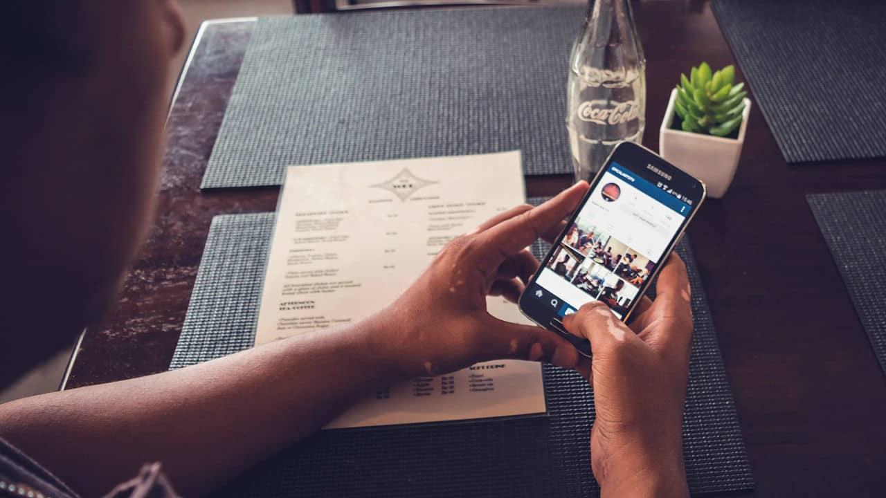как в Инстаграме сделать ссылку на человека