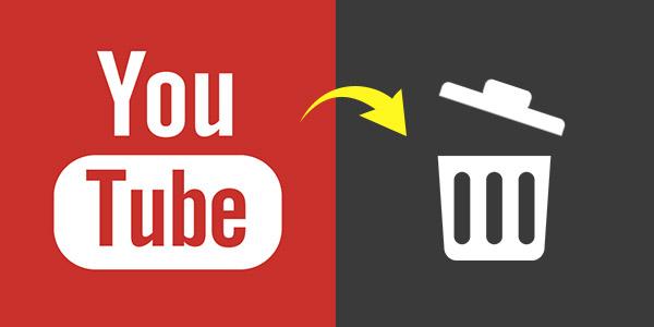 как удалить видео с Ютуба