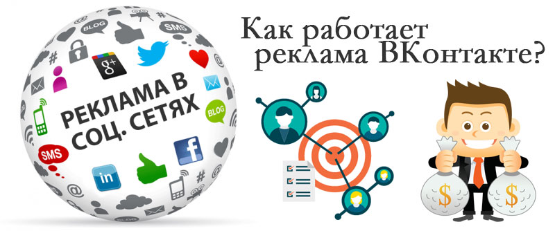 Как работает реклама ВКонтакте?
