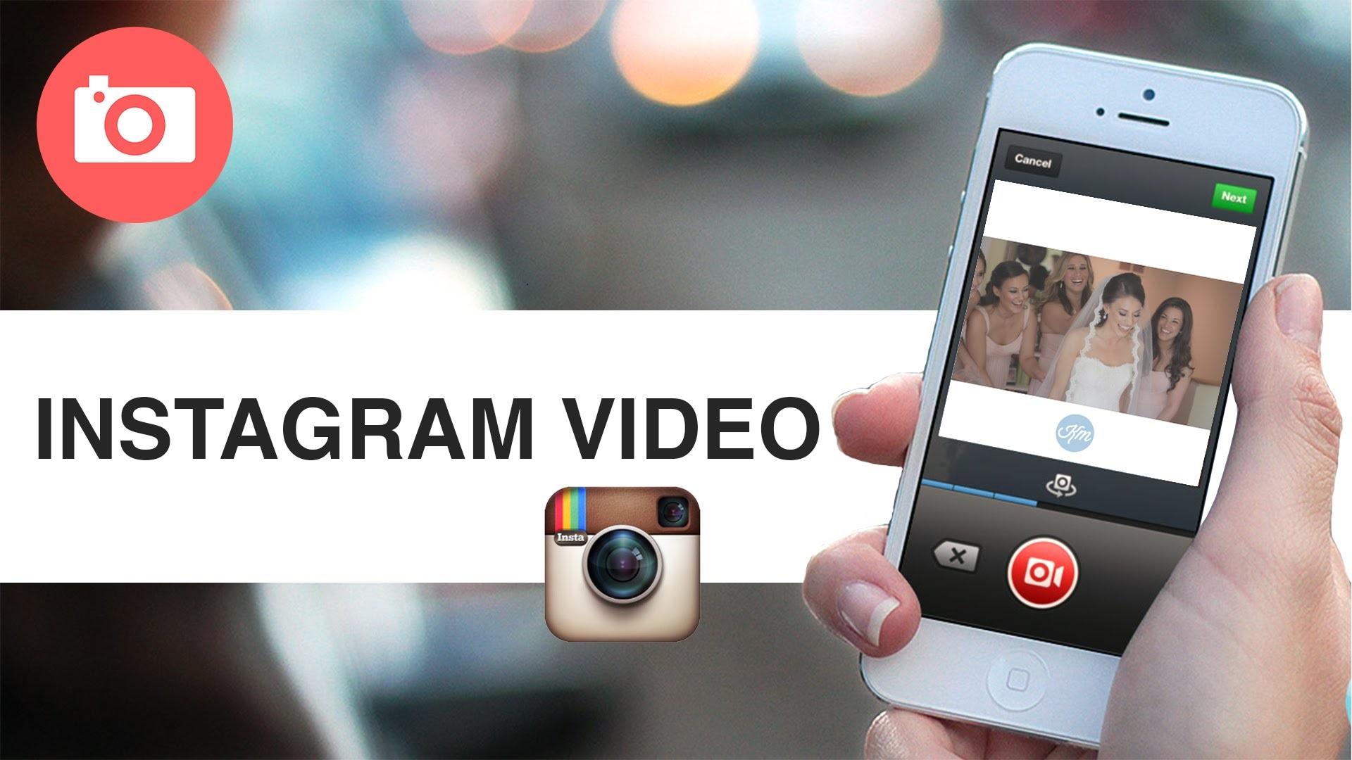 Добавить видео в Инстаграм